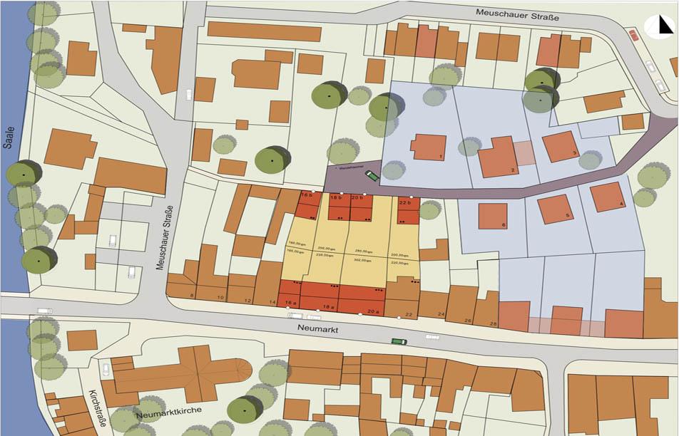 Rahmenplan, Neumarkt Merseburg